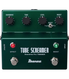 Ibanez TS808DX Tube Screamer Overdrive + Booster