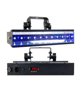 LED UV GO ADJ BARRA 10 LED UV A BATTERIA CON TELECOMANDO