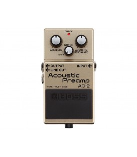 Boss AD 2 Acoustic Preamp.