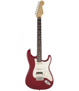 Fender USA Pro Standard Stratocaster HSS Crimson red trasparent