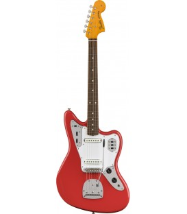 Fender '60s Jaguar Lacquer Fiesta Red