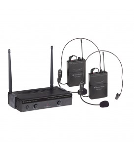 RADIOMICROFONO SOUNDSATION WF-U24PP 4 CANALI