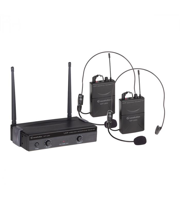 RADIOMICROFONO SOUNDSATION WF-U24PP 4 CANALI - Ferranti Musica d58a035cf781