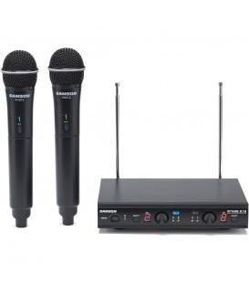 Samson STAGE 212-E VHF radiomicrofono doppio