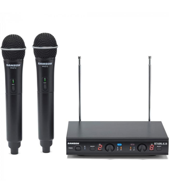 Samson STAGE 212-E VHF radiomicrofono doppio - Ferranti Musica d0e8058eb701