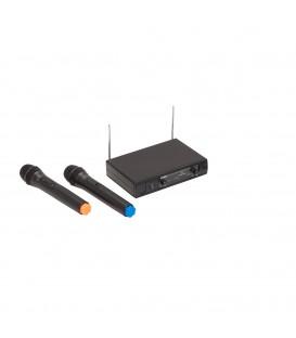 SOUNDSATION RADIOMICROFONO VHF DOPPIO WF-V21HHA