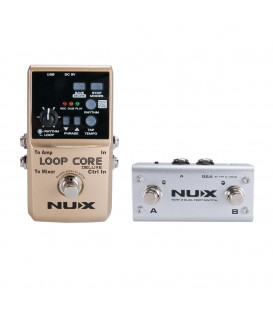 NUX LOOP CORE DELUXE + NMP2 FOOTSWITCH