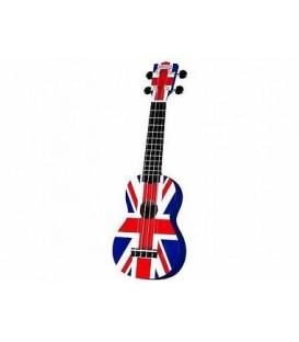 Ukulele Rialto Soprano Bandiera UK