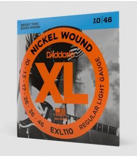 D'Addario 10-46 Regular Light Set EXL110