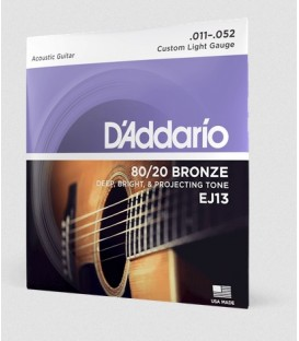 D'Addario 11-52 Custom Light Set EJ13