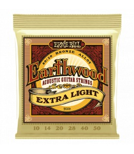 Ernie Ball Earthwood Extra Light 80/20 Bronze 10/50