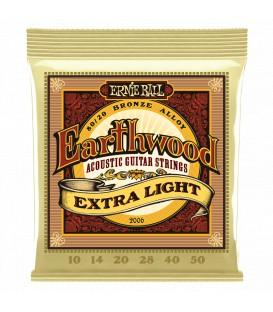 Ernie Ball Earthwood Extra Light 80/20 Bronze 10/50