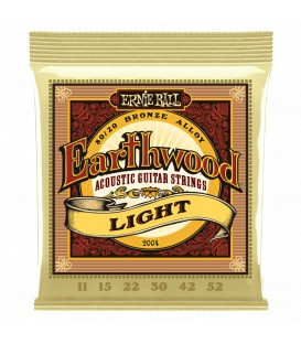 Ernie Ball Earthwood Light 80/20 Bronze 11/52