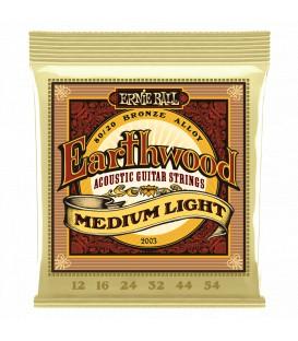 Ernie Ball Earthwood Medium Light 80/20 Bronze 12/54