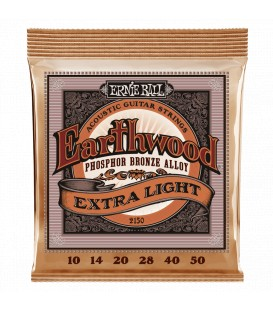 Ernie Ball Earthwood Extra Light Phosphor Bronze 10/50