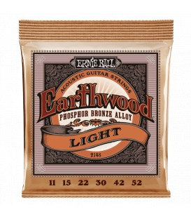 Ernie Ball Earthwood Light Phosphor Bronze 11/52
