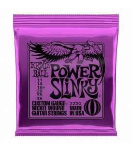 Ernie Ball Power Slinky con Avvolgimento in Nichel 11/48
