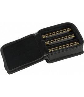 Fender Blues DeVille Harmonicas - 3-Pack with Case