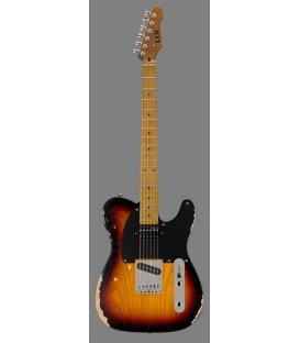LTD BY ESP TE-254 – Distressed 3-Tone Burst
