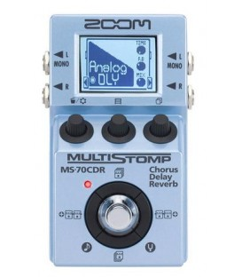 ZOOM MS70 CDR Pedale Multieffetto