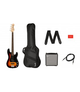 SQUIER BY FENDER Affinity Series Precision Bass PJ Pack